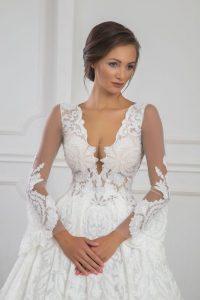 Юлия Юревич със сватбена рокля на Христо Чучев HC Hristo Chuchev Design