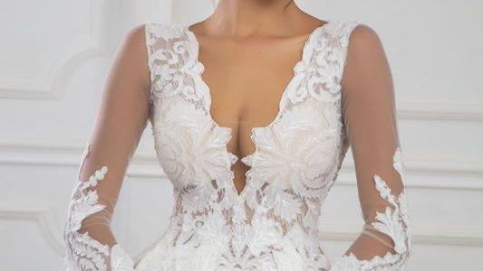 Зимната сватбена рокля е още по-красива!