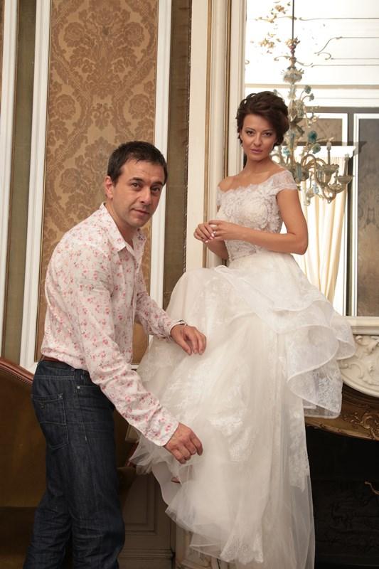 Дизайнерът Христо Чучев и Диана Иванчева